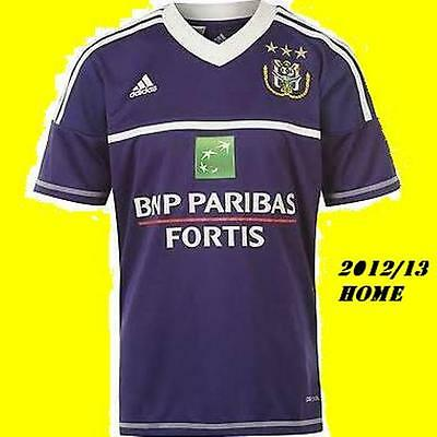 anderlecht  Home shirt xlb 32/34 inches,brand new tags/packet