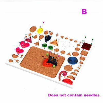 Flower Scrapbooking Template Quilling Rolling Paper Crafts Kit Mould DIY Tools
