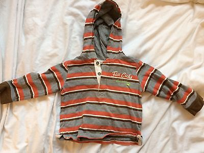 Striped Mothercare Hoody/Jacket | 18-24 Months (Boys)