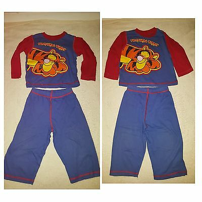 BABY BOYS TIGGER PYJAMAS AGE 12 - 18 MONTHS very good condition