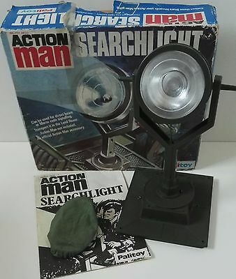 Vintage Palitoy Action Man Searchlight Boxed With Instructions VGC!!