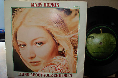 Mary Hopkin,  Think About Your Children,  Apple Records 1970  Ex