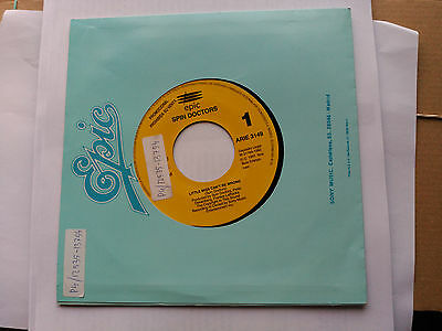 Promo Single Sided Spin Doctors - Little Miss Can't Be Wrong - Epic Spain 1993