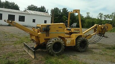 vermeer trencher. Cable plow