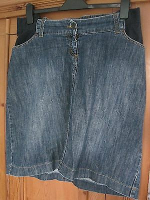 Jojo maman bebe maternity denim skirt size 12