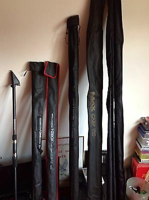 carp rod bundle. .fishing rod bundle ..never been used
