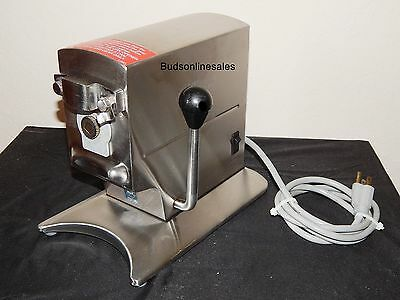 Edlund 270 Electric Can Opener 2 Speed Tabletop Stainless Steel 115 Volt Soup