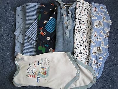 Next & Joules boys 6-9mths x7 tops