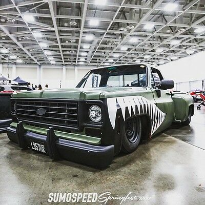 1973 Chevrolet C-10  73 Chevy squarebody bagged and bodied