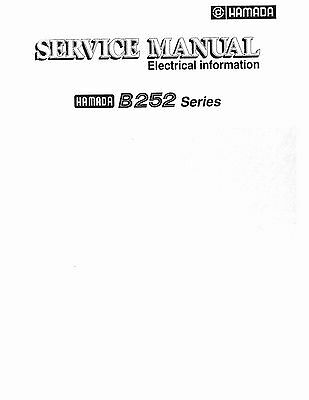 Hamada B252 Series Service Manual (043)