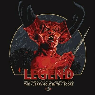 Legend - 2 x LP Expanded Score - Black Vinyl - Limited Edition - Jerry Goldsmith