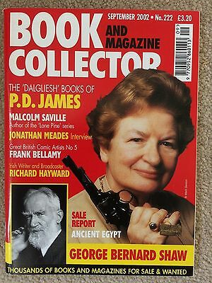 Book and Magazine Collector - The Dalgliesh' books of P.D. James September 2002