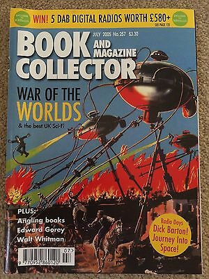 Book and Magazine Collector - War of the Worlds July 2005
