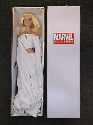 """Tonner X-Men Emma Frost White Queen 16"""" Tall Doll Limited 300 pcs. Ultra Rare"""