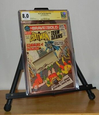 Brave and the Bold #102 CGC 8.0 SS Neal Adams (Jun-Jul 1972, DC)