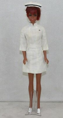 Barbie #1127 1968 JULIA Diahann Carrol Set ALL ORIGINAL Complete with X Stand