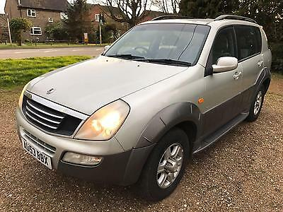 2003 Ssangyong Rexton 2.9TD RX 290 S - 3 F Keepers - NO Mot