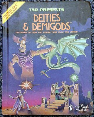 Vintage AD&D Deities and Demigods w/Cthulhu 144 pages <------- AD&D 1E !!