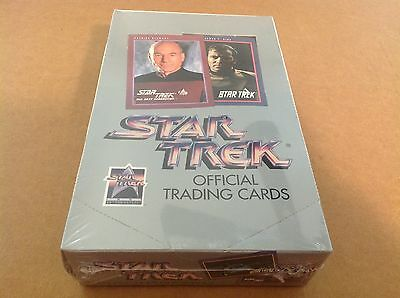 Star Trek 25th Anniversary cards series 1 36 pack factory sealed box 1991 Impel