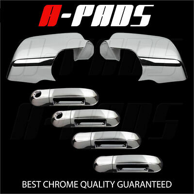 For Ford Explorer 06-10 Chrome Mirror Cover & Door Handle Cover W/ Pskh