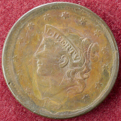 United States Cent 1838 (D2004)