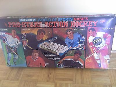 """RARE 1970 Coleco Pro Stars Action Hockey Game #5165 """"EATONS EXCLUSIVE"""" #5169"""