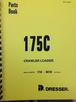 INTERNATIONAL IH 175C Crawler Loader ENGINE Parts Manual