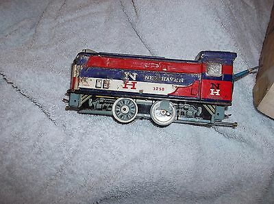 vintage tin plate Shunting frieght train set Battery operated