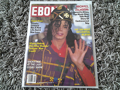 Vintage 1992 May Ebony magazine Michael Jackson cover various artists EXC