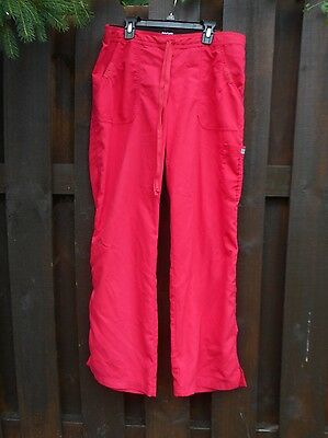 Greys Anatomy By Barco Hot Pink Scrub Pants Womens Size Medium Style #4245