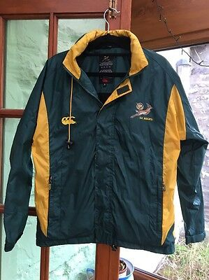CCC Canterbury South Africa-Springboks Training Jacket/Coat, Childs, Size 12 Yrs