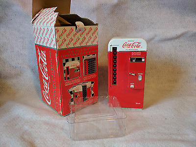 1994 Coca Cola Die Cast Vending Machine Musical Bank Coke