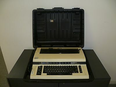 Nakajima ALL - Electronic typewriter with case - Working - Made in Japan