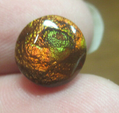 MEXICAN Fire Agate Gemstone Free form Natural Multicolored 9x9