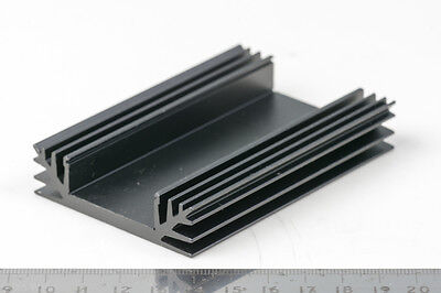 Aluminium Heat Sink For PCB Boards Heatsink Heat Dissipation 89 x 60 x 16mm New