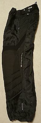 Empire Prevail YOUTH (Medium 25/27) Paintball Pants - Black YM **EUC**