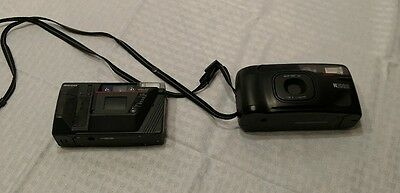 Lot of 2 Ricoh Cameras Untested