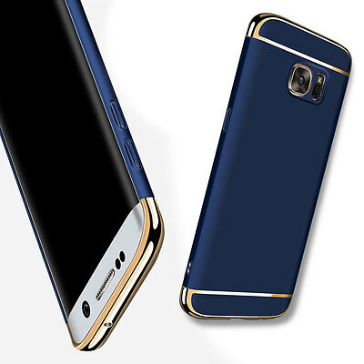 Luxury Thin Eletroplate Hard Blue Case Cover For Samsung Galaxy S6 Edge Plus