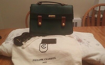 Vintage Authentic Philippe Charriol Hand Bag