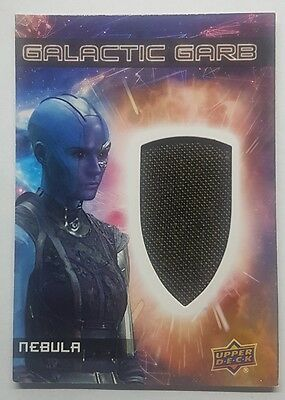 2017 Upper Deck Guardians of the Galaxy Vol 2 Nebula Galactic Garb Memorabilia