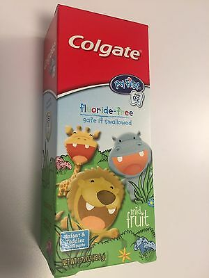 New Colgate My First Baby and Toddler Toothpaste, Fluoride Free - 1.75 ounce