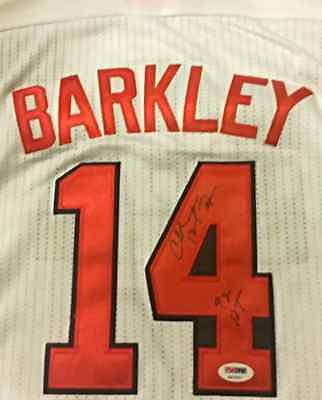 RARE CHARLES BARKLEY Signed Auto USA 92 Dream Team Basketball Jersey PSA PROOF