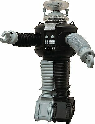 Lost In Space: B9 Electronic Robot Anti-Matter Version  w/ lights and sounds New