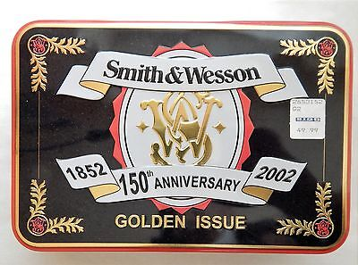 Lot of (2) S&W Golden Issue - 150th Anniversary Collectible Knife in Sealed Tin