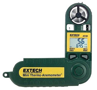 Extech 45158 Mini Waterproof Thermo Anemometer and Humidity Meter
