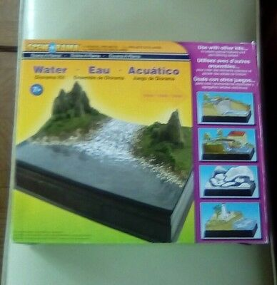 scene a rama water diorama kit school projects great for waterfalls ponds rivers