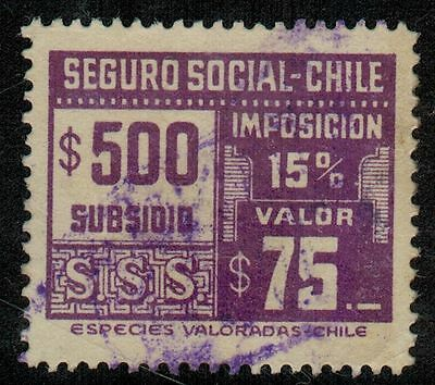Chile Revenue Seguro Social $500 (B420)