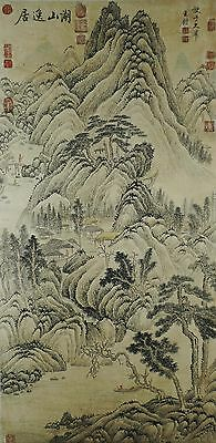 E022 Excellent Chinese Painting of Landscape By Wang Jian(Best Artwork Gift)