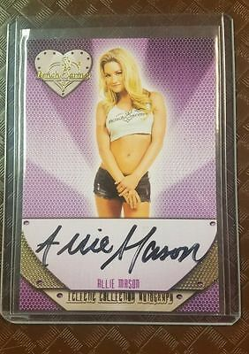 Benchwarmer 2015 Eclectic Collection - Allie Mason Auto Card