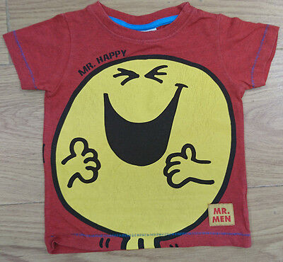 Next Baby Boy T Shirt Age 6-9 Months Mr Men